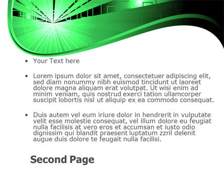Green Light PowerPoint Template Slide 2