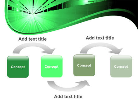 Green Light PowerPoint Template Slide 4