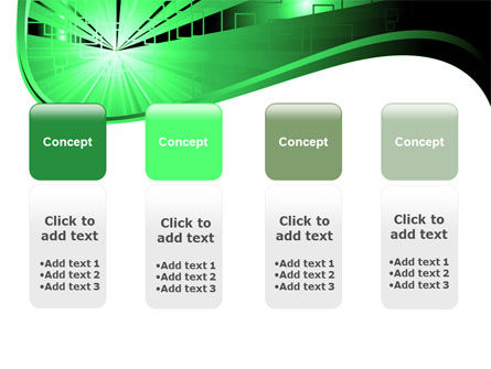 Green Light PowerPoint Template Slide 5