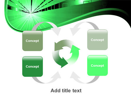 Green Light PowerPoint Template Slide 6