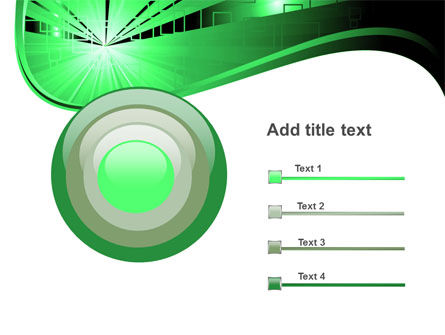 Green Light PowerPoint Template Slide 9