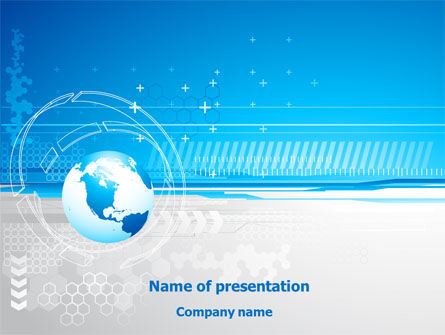 Globe Theme PowerPoint Template