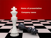 Business Concepts: Main Figure PowerPoint Template #08214