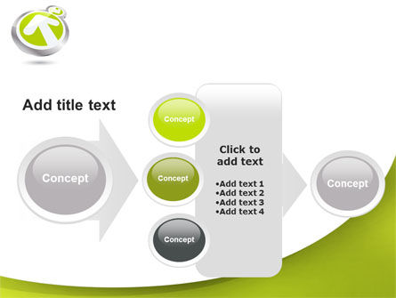 Olive Arrow PowerPoint Template Slide 17