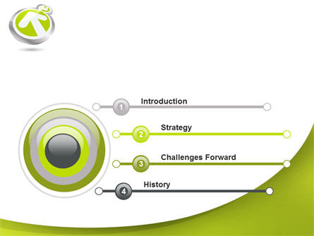 Olive Arrow PowerPoint Template Slide 3