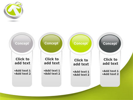 Olive Arrow PowerPoint Template Slide 5