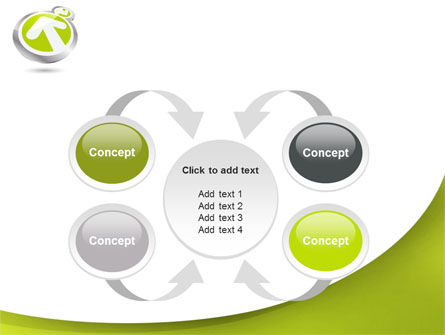Olive Arrow PowerPoint Template Slide 6