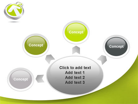 Olive Arrow PowerPoint Template Slide 7