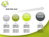 Olive Arrow PowerPoint Template#13