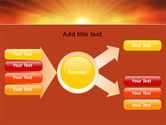 Sunrise in Mountains PowerPoint Template#14