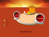 Sunrise in Mountains PowerPoint Template#16