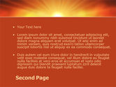 Sunrise in Mountains PowerPoint Template#2