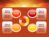 Sunrise in Mountains PowerPoint Template#9