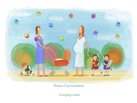 Mothers PowerPoint Template
