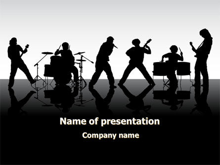 Music Band PowerPoint Template