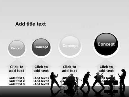 Music Band PowerPoint Template Slide 13