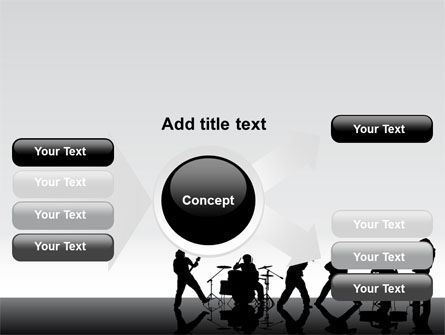 Music Band PowerPoint Template Slide 14