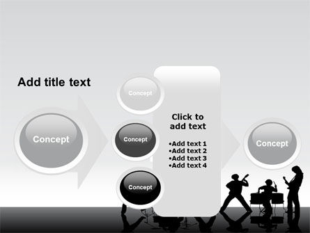 Music Band PowerPoint Template Slide 17