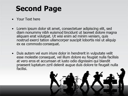 Music Band PowerPoint Template Slide 2