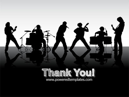 Music Band PowerPoint Template Slide 20