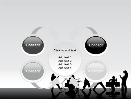 Music Band PowerPoint Template Slide 6