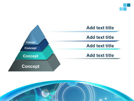Teal Cycle PowerPoint Template Slide 12