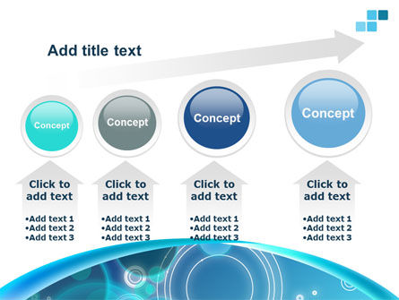 Teal Cycle PowerPoint Template Slide 13