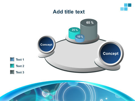 Teal Cycle PowerPoint Template Slide 16