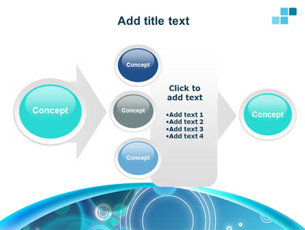 Teal Cycle PowerPoint Template Slide 17