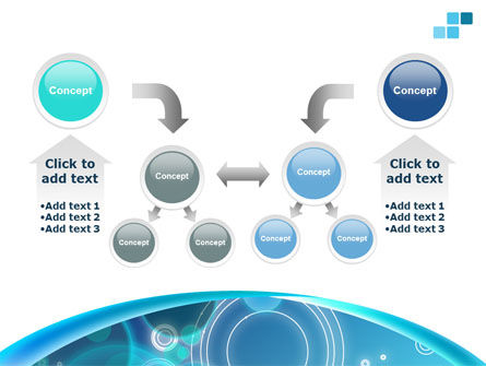 Teal Cycle PowerPoint Template Slide 19