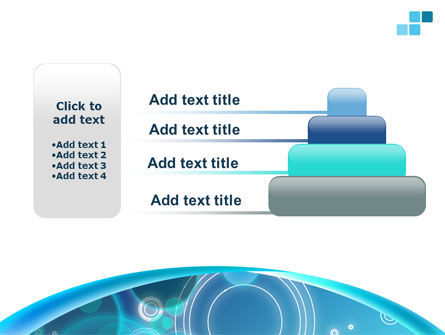 Teal Cycle PowerPoint Template Slide 8
