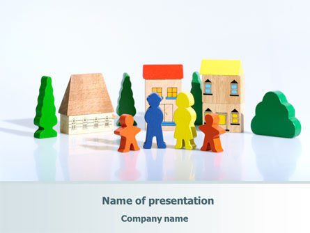 Toy Family PowerPoint Template