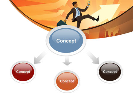 Business Career Development PowerPoint Template, Slide 4, 08222, Business — PoweredTemplate.com