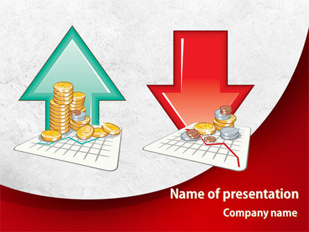 Financial/Accounting: Profit and Loss PowerPoint Template #08223