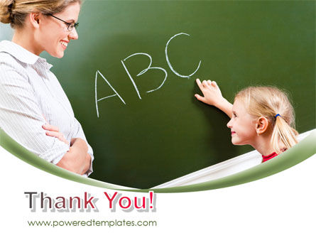 Writing the Alphabet PowerPoint Template Slide 20
