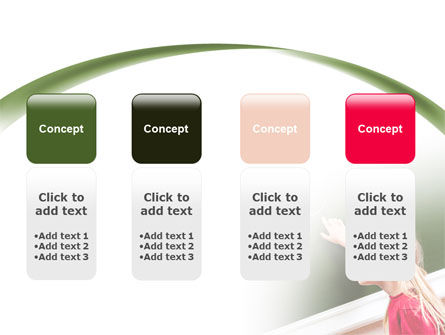 Writing the Alphabet PowerPoint Template Slide 5