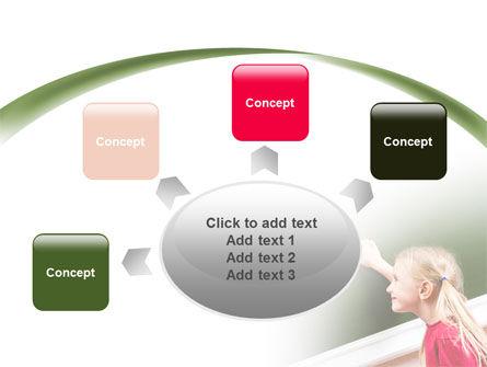 Writing the Alphabet PowerPoint Template Slide 7