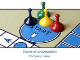 Business Concepts: Modello PowerPoint - Nuovo gioco da tavolo #08226