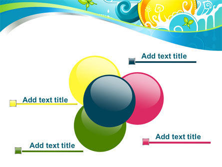 Fantastic World Illustration PowerPoint Template Slide 10