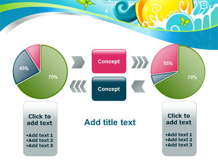 Fantastic World Illustration PowerPoint Template Slide 11