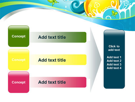 Fantastic World Illustration PowerPoint Template Slide 12