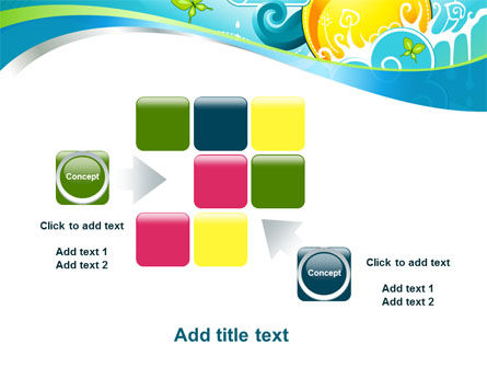 Fantastic World Illustration PowerPoint Template Slide 16
