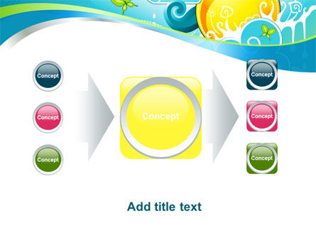 Fantastic World Illustration PowerPoint Template Slide 17