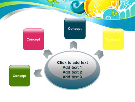 Fantastic World Illustration PowerPoint Template Slide 7