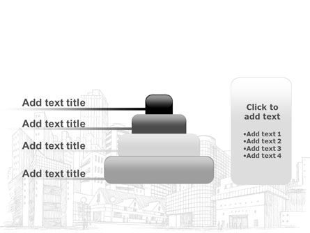 City Architecture Sketch PowerPoint Template Slide 8