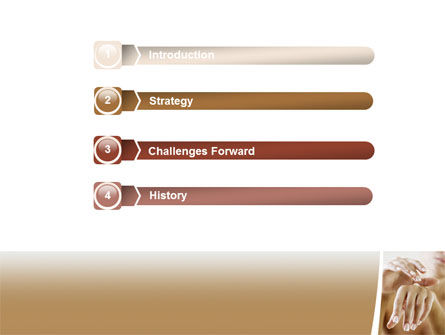 Hand Cream PowerPoint Template, Slide 3, 08230, Careers/Industry — PoweredTemplate.com
