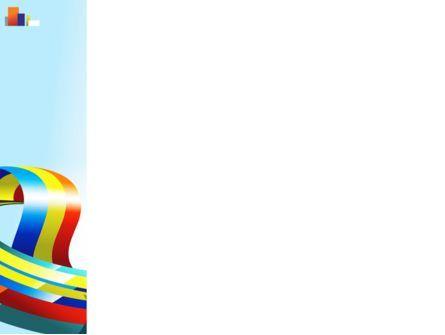 Rainbow Ribbon PowerPoint Template, Slide 3, 08232, Abstract/Textures — PoweredTemplate.com