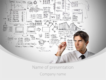 Business Success Planning PowerPoint Template, 08235, Consulting — PoweredTemplate.com