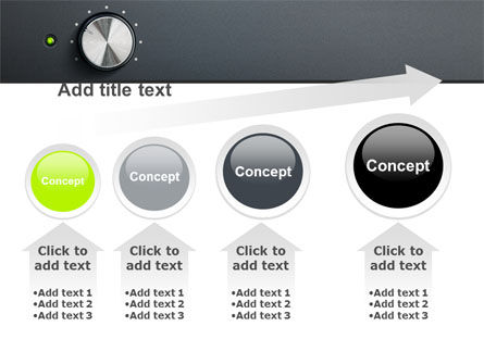Free High-End Audio PowerPoint Template Slide 13