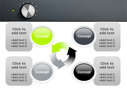 Free High-End Audio PowerPoint Template Slide 9